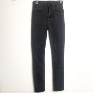 Citizens of humanity high waist skinny jeans sz25